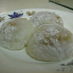 Microwave Mochi Recipe - A microwavable form of the Japanese dessert made with sweet rice flour.  More varied and interesting flavors are available as well.