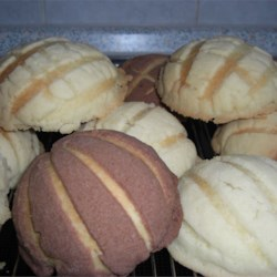 Conchas (Mexican Sweet Bread) Recipe - I got this recipe from my friends mom who owns a Mexican Bakery. When they made these one day for my family they loved them - even my brother who is sooo picky. Now they ask for them all the time.  Although they are a little time consuming it is well worth it at the end!