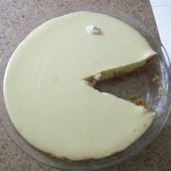Key lime pie starring Pacman!