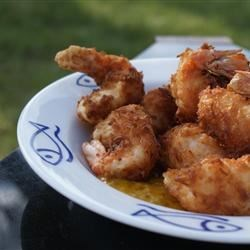 Coconut Shrimp II Recipe - A great tasting appetizer.  Use Creole-style mustard for the sauce if it is available.