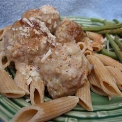 Grandma's Applesauce Meatballs Recipe - Adding a little applesauce to a savory meatball dish with gravy is one way to keep the meatballs moist and tasty. You won't taste the applesauce.