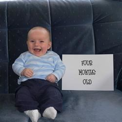 Four month photo