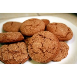 Whole Wheat Ginger Snaps Recipe - Spicy and chewy Ginger Snaps made with all whole wheat flour. Yummy!!