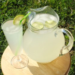 Refreshing Limeade Recipe - Serve this delicious and refreshing sugar-free drink over ice on a hot day.