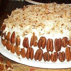Coconut Pecan Cake