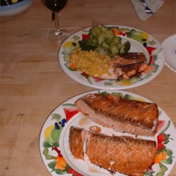 Salmon Marinade Recipe - This easy marinade can be used to flavor up to two pounds of salmon fillets.