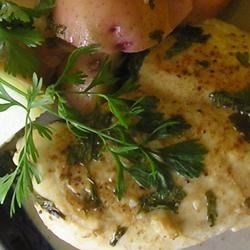 Lemon Cilantro Chicken Recipe - The sunny flavors of lemon and cilantro permeate this baked chicken.