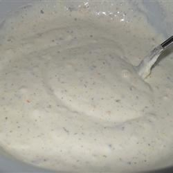 Herbed Buttermilk, Garlic and Parmesan Dressing