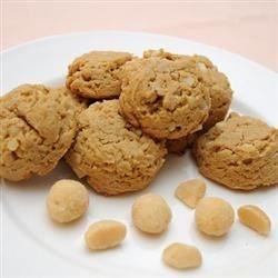 Cream Cheese Macadamia Cookies