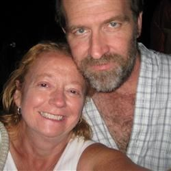 Jeff and I in 2009
