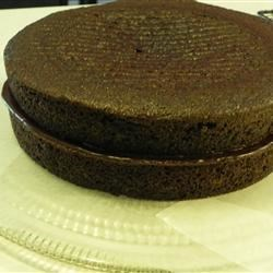 Chocolate Ganache spread in the middle.