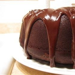 Satiny Chocolate Glaze