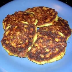 Zucchini Corn Fritters Recipe - Light and fluffy with lots of zucchini and fresh corn, these yummy fritters are a family favorite. Serve hot with ranch dressing.