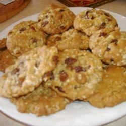 Ranger Cookies III Recipe - Drop cookies with raisins, coconut, nuts and oatmeal.  Delicious!