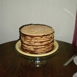 Mom's apple stack cake