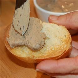 Chicken Liver Pate Recipe - Spread this delicious pate on assorted crackers at your next gathering!