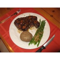Garlic/Mushroom Beef