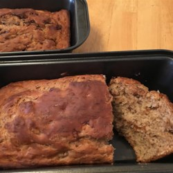 Almost No Fat Banana Bread 57