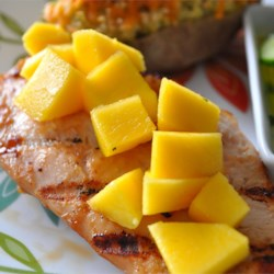 Mango Teriyaki Marinade Recipe - Use this sweet and tangy marinade on chicken or pork!