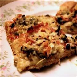 Muffaletta Pizza