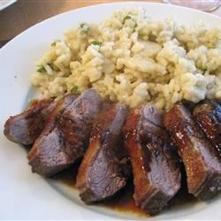 Duck with Honey, Soy, and Ginger