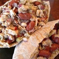 MaLizGa's Tuna n' Kidney sandwich