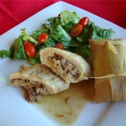 Real Homemade Tamales Recipe and Video - I had been looking for a Tamale recipe for years. One day I went to the international market and stood in the Mexican aisle till a woman with a full cart came by. I just asked her if she knew how to make Tamales. This is her recipe with a few additions from me. This is great served with refried beans and a salad.