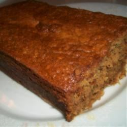 Lower Fat Banana Nut Bread Recipe -  Fat-free sour cream and reduced-fat margarine really make a dent in the fat gram count without sacrificing the yumminess factor of this banana nut bread.