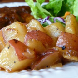 Honey Roasted Red Potatoes Recipe - These slightly sweet potatoes are perfect with most entrees.