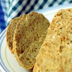 Irish Brown Soda Bread Recipe - This is plain and pure whole-wheat soda bread, with buttermilk and oats for good measure.