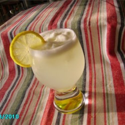 Icy Lemonade Slush Recipe - With the taste of old fashioned lemonade and the icy texture of a slush, this drink is perfect for a hot summer day. Adjust the quantities to your taste.