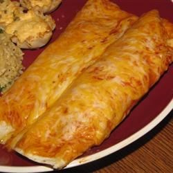 Chili Potato Burritos