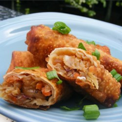 Cindi's Egg Rolls Recipe - These are the best-tasting egg rolls you'll ever have. They're even better than the ones served at Asian restaurants.