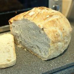 No-Knead European style bread