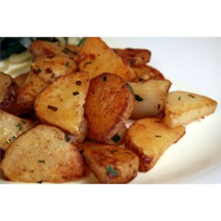 Steve's Famous Garlic Home Fries Recipe - Home fries with lots of garlic and potato flavor - a big hit every time!