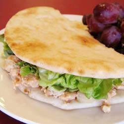 Roast Chicken Pita Pockets