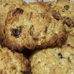 Crazy Craisin Coconut Cookies