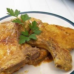 Indian Pork Chops