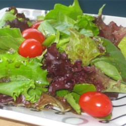 Honey Dijon Balsamic Vinaigrette Recipe - Serve this easy and delicious vinaigrette with your favorite salad or with bread, as a dipping sauce.