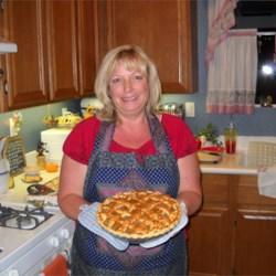 Kathleen's favorite apple pie