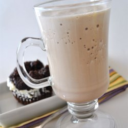 Iced Mocha Fusion Shake Recipe - A delicious and cold 'milkshake' using a mocha flavored coffee mix. Try making your own and see just how simple it is!
