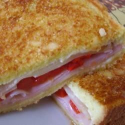 Grilled Roasted Red Pepper and Ham Sandwich Photos - Allrecipes.com