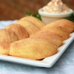 Cinnamon Madeleines Recipe - This Madeleine recipe makes a rich and buttery French-style cookie accented with cinnamon.