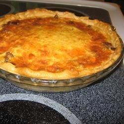Quiche (Southern Egg Pie) (April 22, 2010)