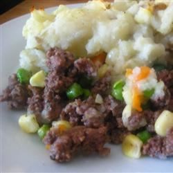 Elk Shepherd's Pie Recipe - This a savory dish filled with ground elk, an array of vegetables, and delicious mashed potatoes.