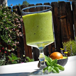 Avocado Smoothie Recipe - Try this avocado, vanilla yogurt, and honey smoothie in the summer for a refreshing treat.