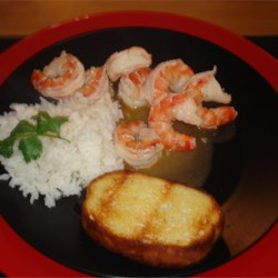 Rum and Lime Prawns Recipe - A yummy easy to make prawn recipe, great as a side dish or appetizer!