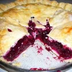 Huckleberry Pie Recipe - If you are lucky enough to get your hands on some fresh huckleberries, this is a wonderful recipe. Lemon zest adds a little extra kick!
