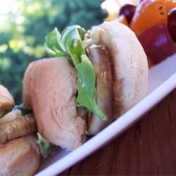 Slamtastic Eggplant Sandwich