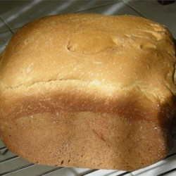 Maple Whole Wheat Bread Recipe - Chewy, hearty, whole wheat bread for bread machines!